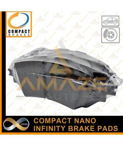 Compact Nano Infinity Brake Pad for Mazda 3 Skyactiv (14-17)(Rear)