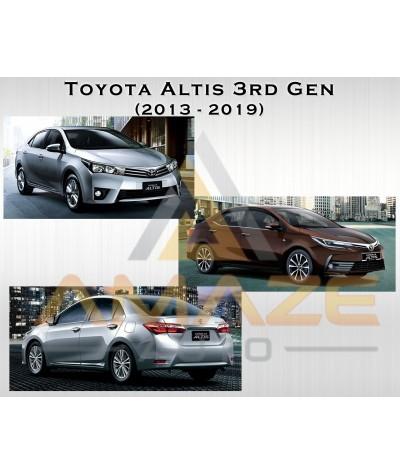 Compact MC Ceramic Brake Pad for Toyota Altis 3rd Gen ZRE172 (13 - 19) (Rear)