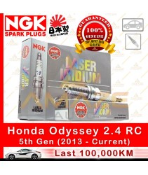 NGK Laser Iridium Spark Plug for Honda Odyssey RC 2.4 I-Vtec (100,000KM Usage Life High Performance Spark Plug)