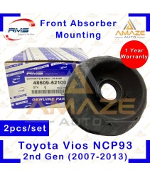 RMS Strut Mount / Absorber Mount for Toyota Vios NCP93 (2nd Gen) (2007-2013) (2pcs/set)