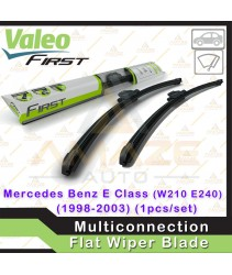 Valeo First Multiconnection Flat Wiper blade for Mercedes E Class W210 (E240) (98-03) (1pcs/set)