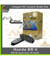 Compact MC Ceramic Brake Pad for Honda BR-V / BRV (15 - Current) (Front)