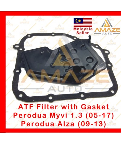 ATF Filter with Gasket for Perodua Myvi 1.3 (05-17) and Alza (09-13) (Equivalent to OEM no 35303-97503)
