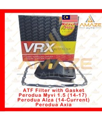ATF Filter with Gasket for Perodua Myvi 1.5 (14-17), Alza (14-Current) and Axia (Equivalent to OEM no 35303-BZ010)