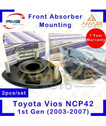 RMS Strut Mount / Absorber Mount for Toyota Vios NCP42 1st Gen (2003-2007) (2pcs/set)