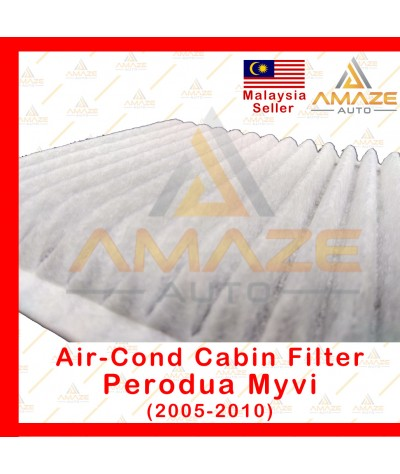Air-Cond Cabin Filter for Perodua Myvi (2005-2010) (Equals to OEM: 17801-87333)