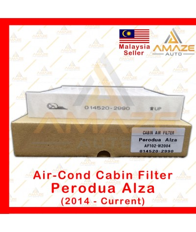 Air-Cond Cabin Filter for Perodua Alza (2014-Current) (Equals to OEM: 014520-2990)