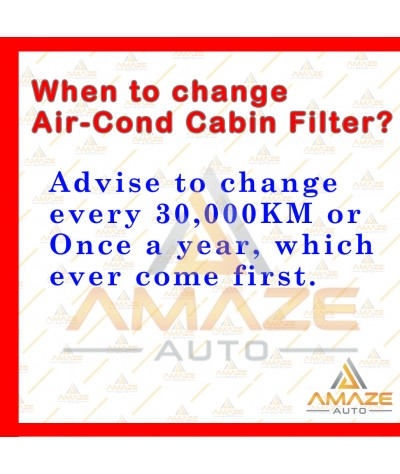 Air-Cond Cabin Filter for Proton Saga BLM (08-10) & Proton Savvy - APM Air-Cond System Type