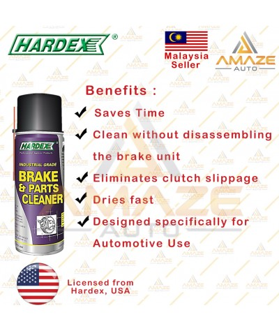 Hardex Industrial Grade Brake & Parts Cleaning (400ml)
