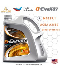 G-Energy Expert L 10W40 Semi-Synthetic Engine Oil (4L) - SL/CF