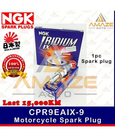 NGK Iridium IX Spark Plug CPR9EAIX-9 - Last 15,000KM (Honda RS150, Yamaha 135LC, MT-09)