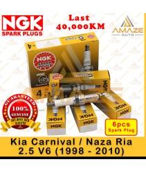 NGK G-Power Platinum Spark Plug for Kia Carnival / Naza Ria 2.5 V6 (1998 - 2010) - 40,000KM Platinum Spark Plug