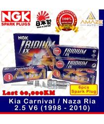 NGK Iridium IX Spark Plug for Kia Carnival / Naza Ria 2.5 V6 (1998 - 2010) - 60,000KM Iridium Spark Plug