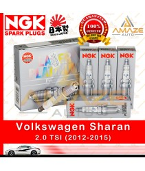 NGK Laser Platinum Spark Plug for Volkswagen Sharan 2.0 TSI