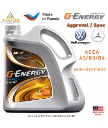 G-Energy Expert L 5W30 Semi-Synthetic Engine Oil (4L) - SL/CF