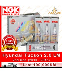 NGK Laser Iridium Spark Plug for Hyundai Tucson 2.0 LM (2nd Gen) - Longest Usage life and high performance