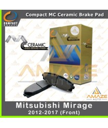 Compact MC Ceramic Brake Pad for Mitusbishi Mirage (Front)