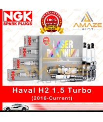 NGK Laser Platinum Spark Plug for Haval H2 1.5 Turbo (2016-Current) (4pcs/set)
