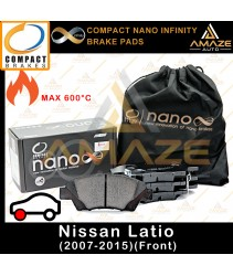 Compact Nano Infinity Brake Pad for Nissan Latio (2007-2015) (Front)