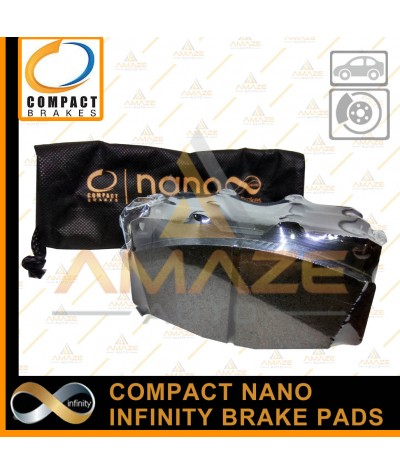 Compact Nano Infinity Brake Pad for Nissan X-Gear (2011-2019) (Front)