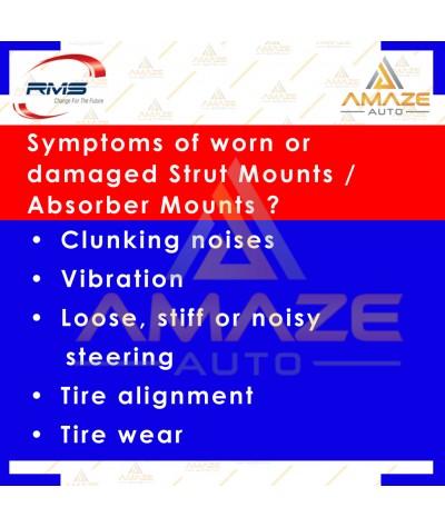 RMS Strut Mount / Absorber Mount for Perodua Myvi (05-17), Viva (07-14), Axia, Kancil, Kenari, Kelisa(2pcs/set)