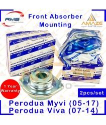 RMS Strut Mount / Absorber Mount for Perodua Myvi (05-17), Perodua Viva (07-14), Axia, Kancil, Kenari, Kelisa(2pcs/set)