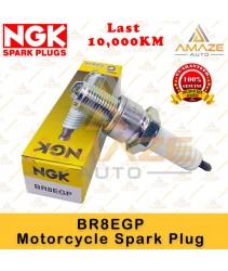 NGK G-Power Platinum Spark Plug BR8EGP - Last 10,000KM (Yamaha RXZ, Y125Z, Kawasaki Ninja, Honda NSR)