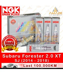 NGK Laser Iridium Spark Plug for Subaru Forester 2.0 XT SJ (2014-2018) - Longest Usage life and high performance