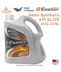 G-Energy Expert L 10W30 Semi-Synthetic Engine Oil (4L) - SL/CF ACEA A3/B4