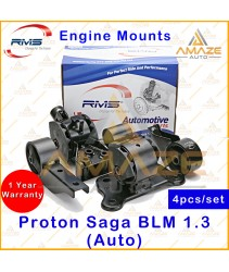 RMS Engine Mounting for Proton Saga BLM 1.3 Auto (4pcs/set) - Amaze Autoparts