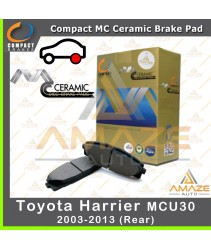 Compact MC Ceramic Brake Pad for Toyota Harrier 2nd gen (03 - 13) (Rear)