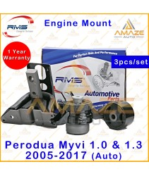RMS Engine Mounting for Perodua Myvi 1.0 & 1.3 Auto (2005-2017) (4pcs/set) - Amaze Auto Parts