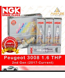NGK Laser Iridium Spark Plug for Peugeot 3008 1.6 THP (2017-Current) - Amaze Autoparts
