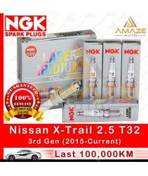 NGK Laser Iridium Spark Plug for Nissan X-Trail 2.5 T32 (3rd Gen) (2015-Current) - Amaze Autoparts