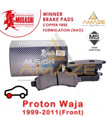 Musashi Winner Brake Pad (Copper Free NAO) for Proton Waja (1999 - 2011) (Front)