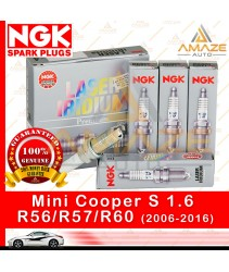 NGK Laser Iridium Spark Plug for Mini Cooper S 1.6 R56/R57/R60 (2006-2016) - Longest Usage life and high performance