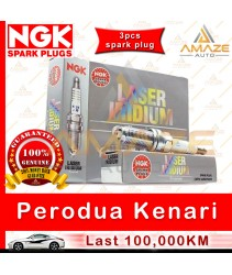 NGK Laser Iridium Spark Plug for Perodua Kenari 1.0 - Longest Usage life and high performance
