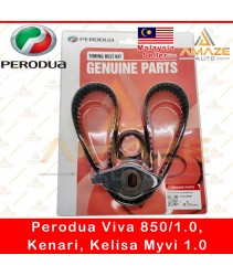 Genuine Timing Belt Kit for Perodua Viva 850 / 1.0, Kenari, Kelisa & Myvi 1.0 (13500-00R01)