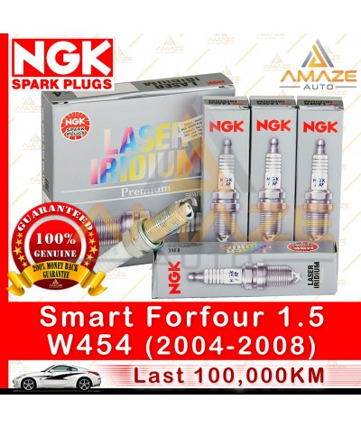 NGK Laser Iridium Spark Plug for Smart Forfour 1.5 (W454) (2004 - 2008)