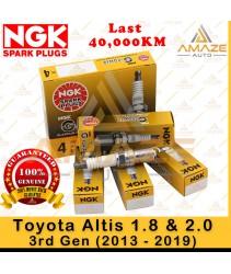 NGK G-Power Platinum Spark Plug for Toyota Altis 1.8 & 2.0 3rd Gen (2013-2019) - 40,000KM Platinum Spark Plug