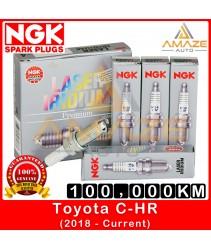 NGK Laser Iridium Spark Plug for Toyota C-HR (2008-Current) - Long Life Spark plug 100,000KM