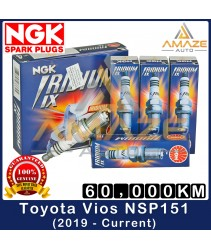NGK Iridium IX Spark Plug for Toyota Vios NSP151 (2019 - Current) - 60,000KM Iridium Spark Plug