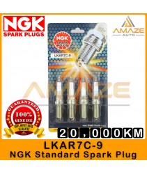 NGK Spark Plug LKAR7C-9 (Proton Persona VVT, Saga VVT, Iriz)  - Last 20,000KM [Amaze Autoparts]