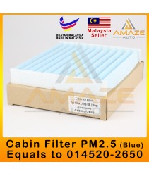 PM2.5 Blue Air-Cond Cabin Filter for Toyota Vios NCP93, NCP150, Camry ACV40, Altis ZZE142, Estima ACR50 (equals 014520-2650)