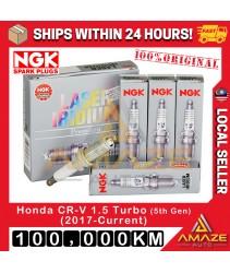 NGK Laser Iridium Spark Plug for Honda CR-V / CRV 1.5 Turbo 5th gen (2017-Current) - Long Life Spark plug 100,000KM