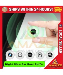 [Night Glow] Silicone Car Door Cushion Soft Close Pad Absorber Pad Sound Insulation Door Buffer (Toyota, Honda, Mazda, Nissan, Volkswagen, BMW) [Amaze Autoparts]