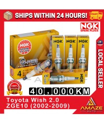 NGK G-Power Platinum Spark Plug for Toyota Wish 2.0 ZGE10 (2002-2009) Busi Palam Penjujuh