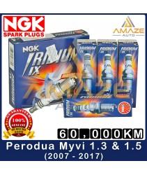 NGK Iridium IX Spark Plug for Perodua Myvi 1.3 & 1.5 (2007-2017) - Performance Spark Plug [Amaze Autoparts]