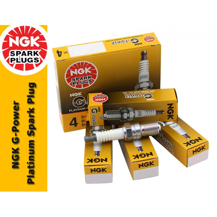NGK G-Power Platinum Spark Plug for Proton Waja 1 6 & 1 8 (VDO Type)