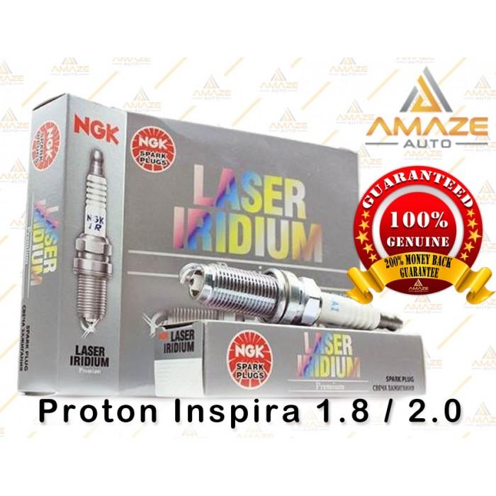 NGK Laser Iridium Spark Plug for Proton Inspira 1 8 / 2 0